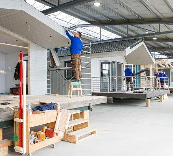 Eine neue Produktionsstätte für Deutschlands größten Mobilheimproduzent